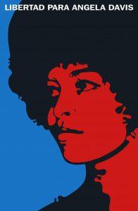 Libertad para Angela Devis Poster ideato Felix Beltran